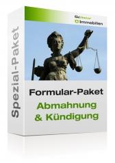 Formular-Paket Abmahnung und Kündigung 2017