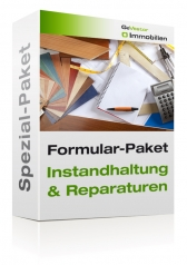 Formular-Paket Instandhaltung und Reparaturen 2017