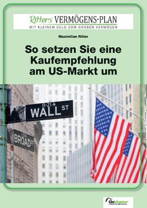 So setzen Sie eine Kaufempfehlung am US-Markt um