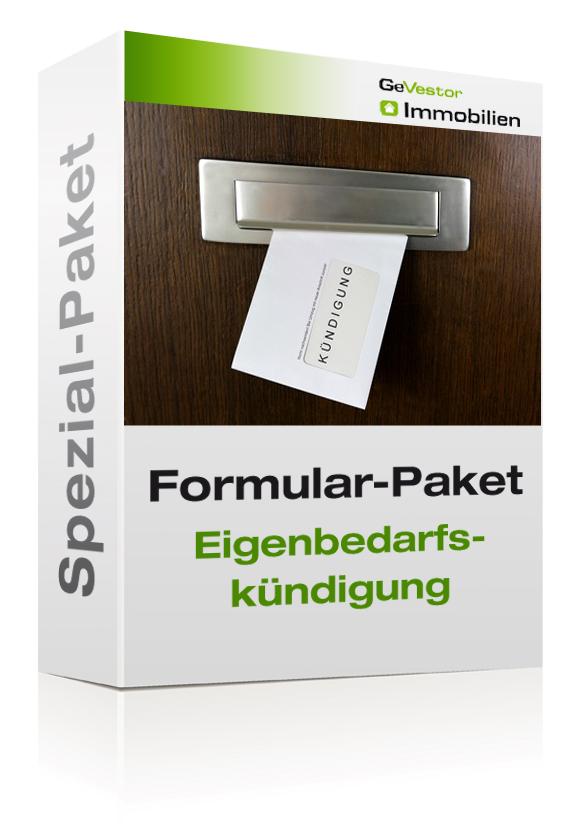 Formular-Paket Eigenbedarfskündigung 2020