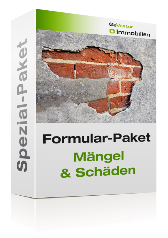 Formular-Paket Mängel und Schäden 2020