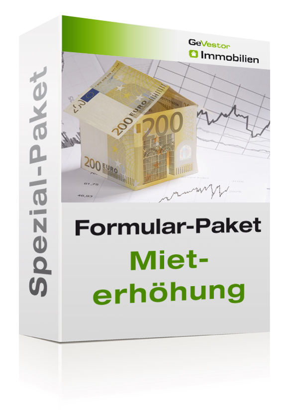 Formular-Paket Mieterhöhung 2020